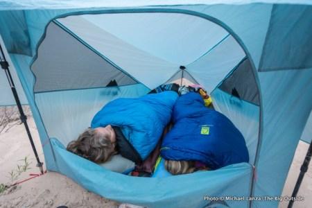 MSR FlyLite tent.