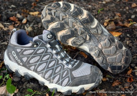 Oboz Switchback shoes.