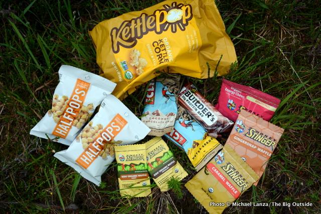 Trail snacks my family eats.