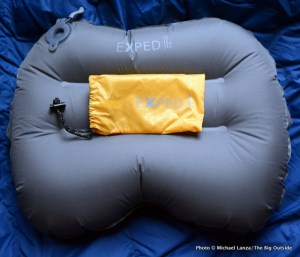 Exped Air Pillow UL and stuff sack.
