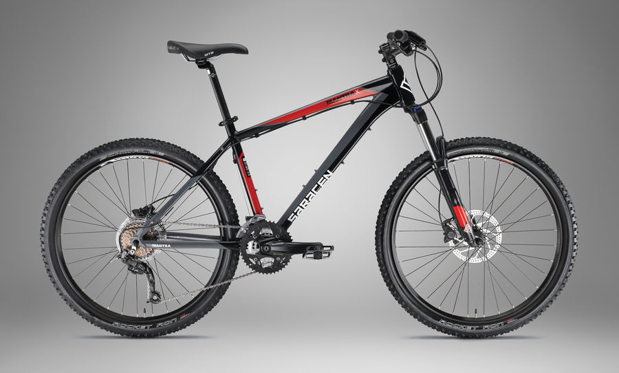 Octalink Shimano Saracen Mantra X 2012 Review - The Bike List