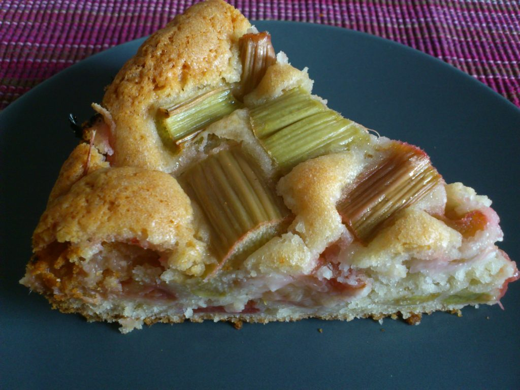 Rezept Kuchen Vegan Veganer Rhabarberkuchen The Bird S New Nest