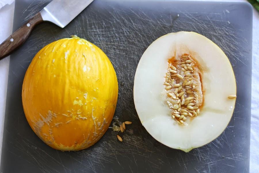 melone bianco in cucina