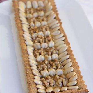crostata farina farro e frutta secca