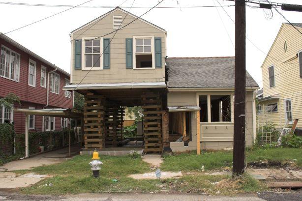 Broken Down House- flickr user Derek Bridges