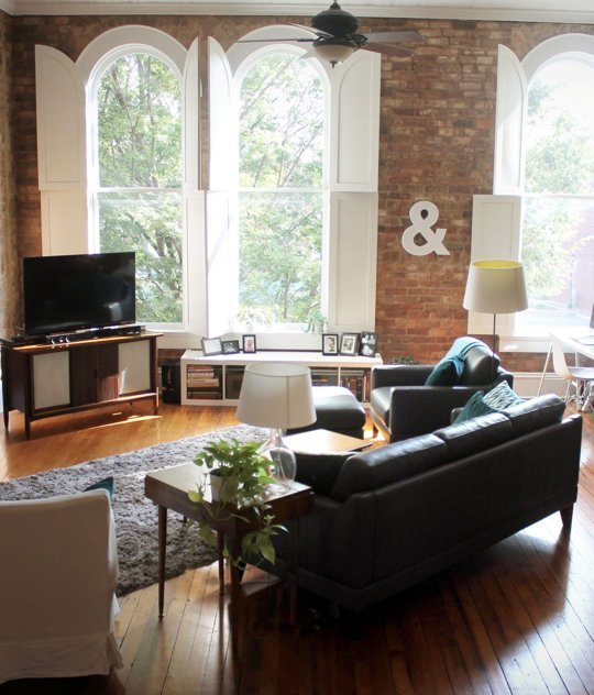 Kelly and Matt's 100 Year Old Apartment-Apartment Therapy