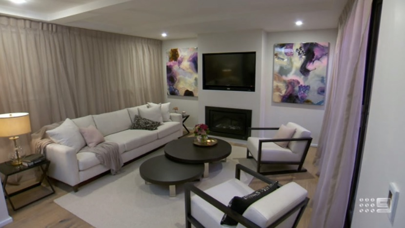 The Block 2015 Living And Dining Rooms Reveals The Block 2018