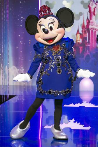 Minnie in Lanvin.