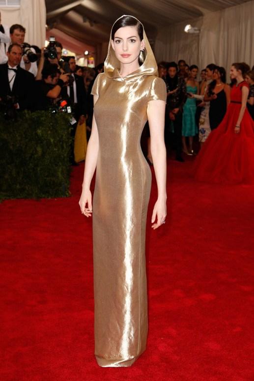 Anne Hathaway. Ralph Lauren.
