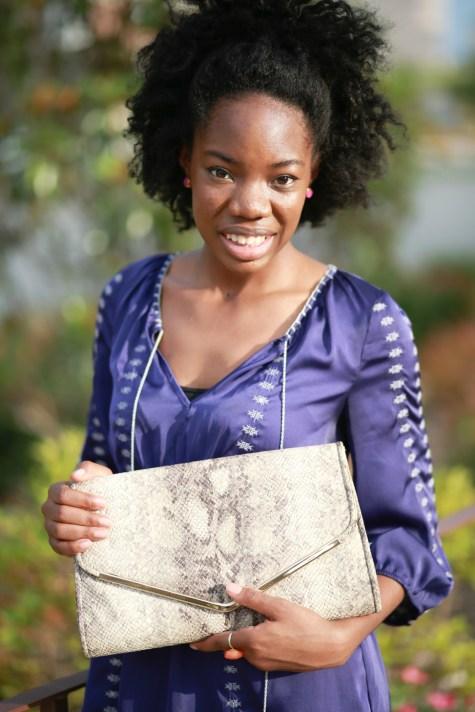 snake clutch, snakeskin bag, purse, clutch