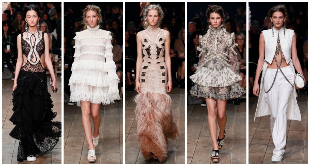 Alexander McQueen, McQueen, Paris Fashion Week, PFW, runway, Alexander McQueen Spring, Alexander McQueen Spring 2016 Runway, runway review