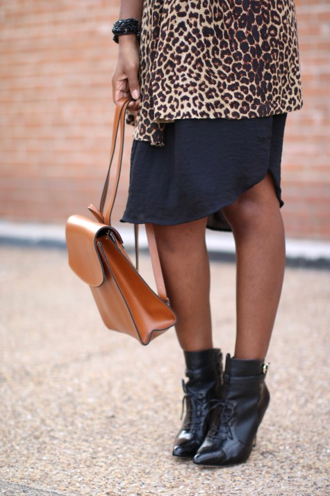 leopard print, black dress, basic black dress, leopard chic, blogger style, natural hair blogger, black style blogger, natural hair inspiration, fashion blogger, leopard style, leopard print sweater, leopard print vest, leopard sweater