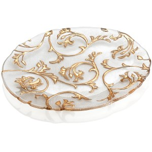 Bisanzio Oval Plate by IVV