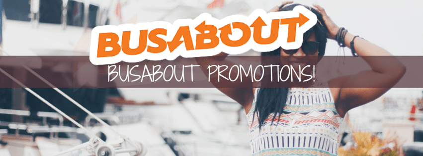 Busabout Promotions!