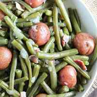 Life's Good in the Kitchen - Southern Style Green Beans & New Potatoes