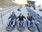 Ready set luge!