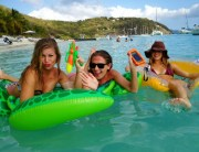 Floating around at White Bay, Jost Van Dyke