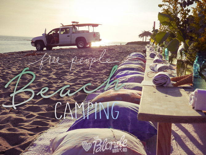 Free People Beach Camping