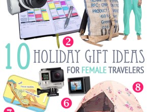 Holiday Gift Ideas for Female Travelers