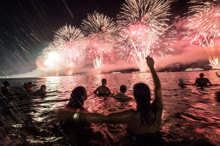 BRAZIL-NEW YEAR CELEBRATION-COPACABANA