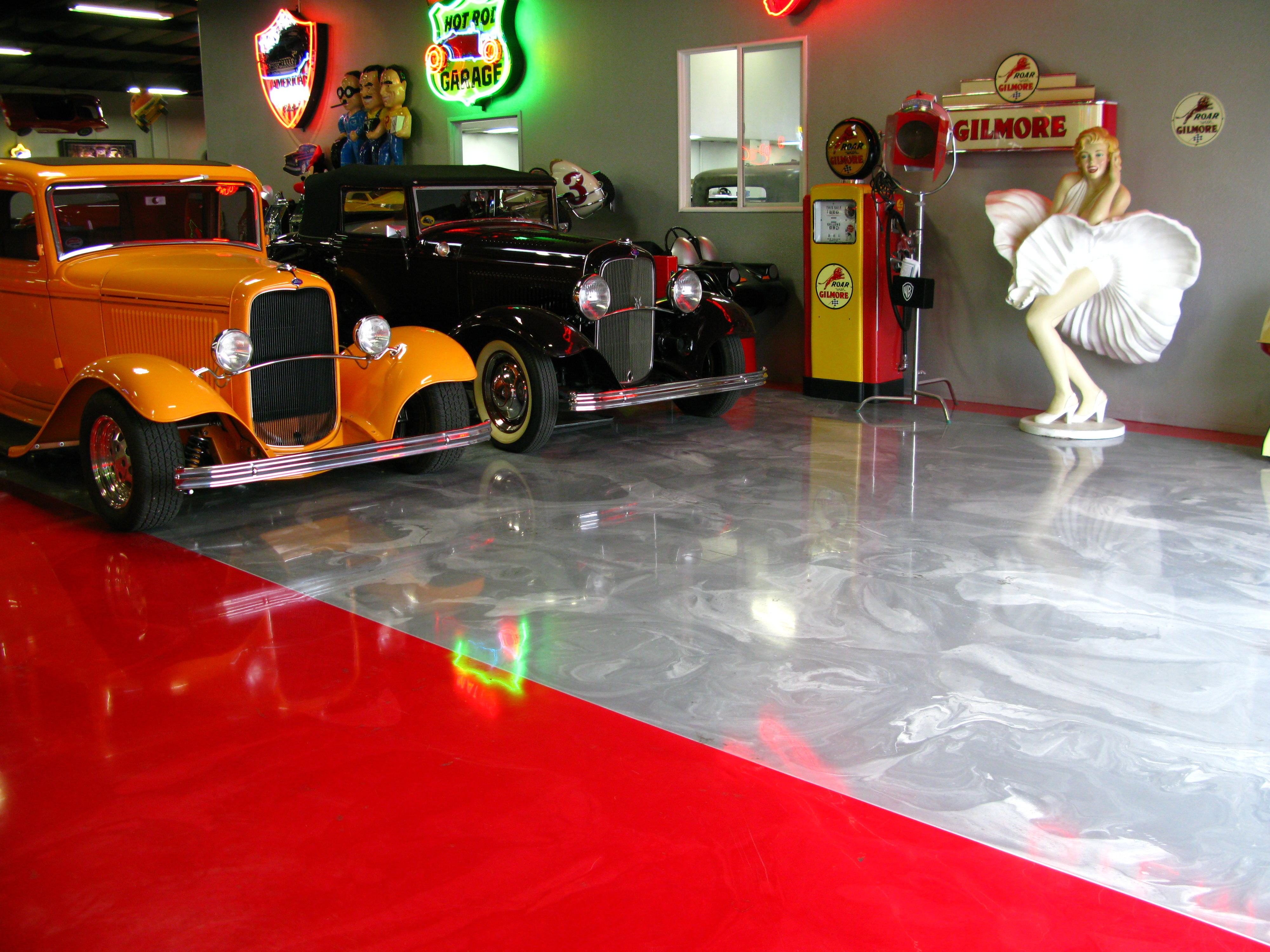 Garage Epoxy Tucson Quest Building Products Decorative Epoxy Garage Floor Image