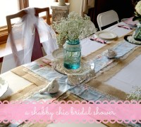 A Shabby Chic Bridal Shower - Part 1 - The Blue Eyed Dove