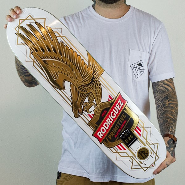 Eagle Decken Paul Rodriguez Gold Eagle Deck White In Stock At The Boardr