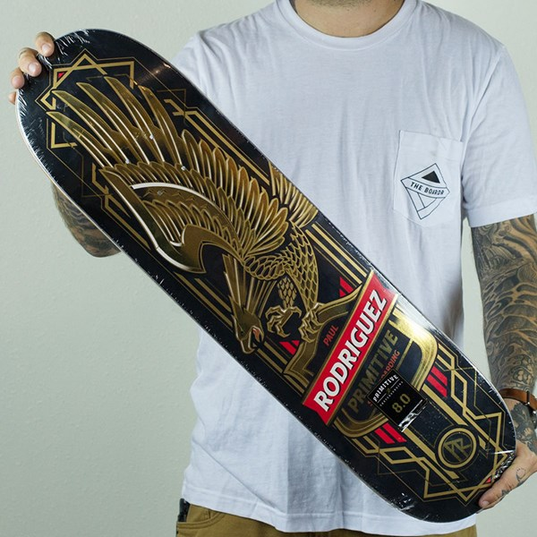 Eagle Decken Paul Rodriguez Gold Eagle Deck Black In Stock At The Boardr