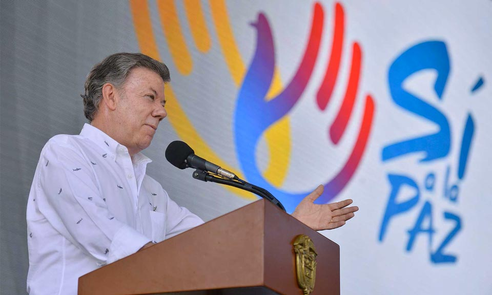 Colombian peace process: A farewell to arms