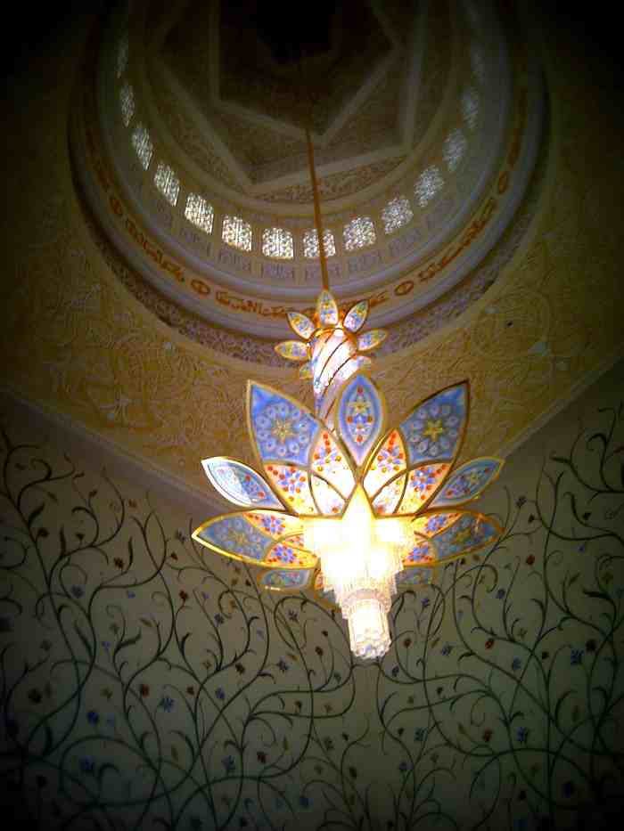The Sheikh Zayed Grand Mosque Abu Dhabi