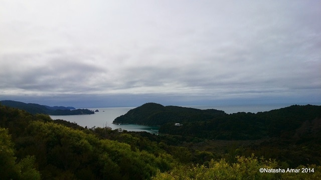 A beautiful view Kayaking in the Abel Tasman National Park