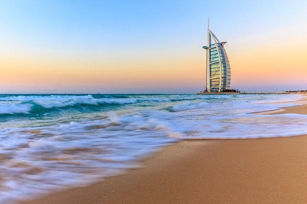 The iconic Burj Al Arab- affordable hotels in dubai