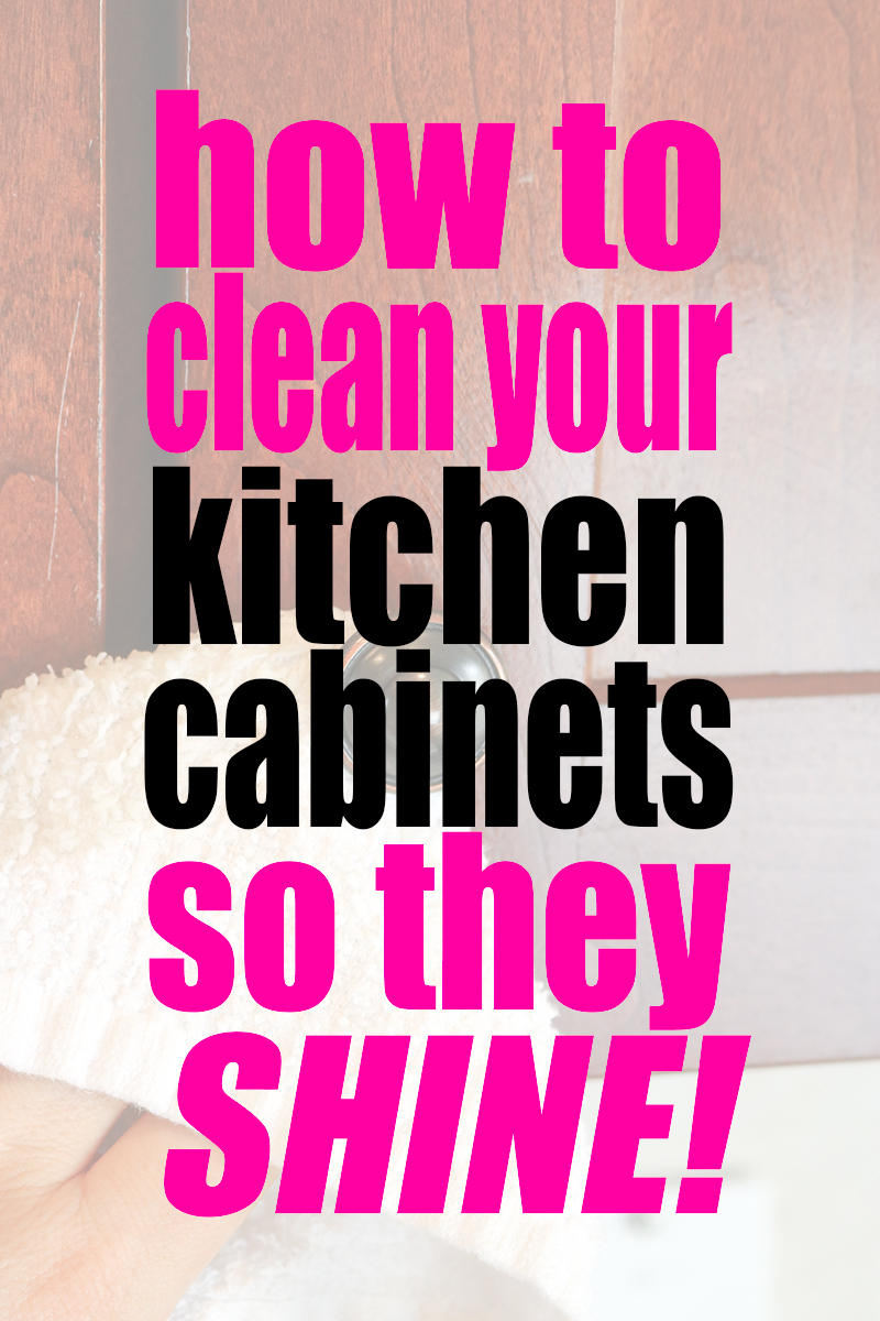How To Clean Kitchen Cabinets So They Shine Self - How To Clean Kitchen Cabinets