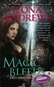 Giveaway: 3 Signed Copies of Magic Bleeds by Ilona Andrews