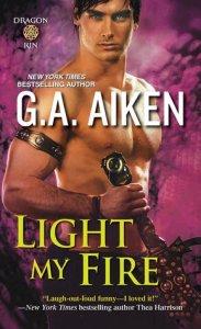 Review – Light My Fire (Dragon Kin #7) by G.A. Aiken