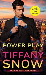 Joint Review & Giveaway – Power Play (Risky Business #1) by Tiffany Snow