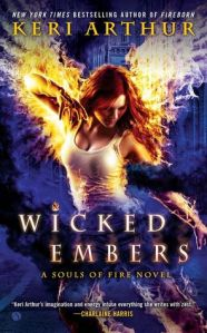 Review & Giveaway – Wicked Embers by Keri Arthur