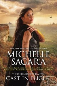 Joint Review – Cast in Flight (Chronicles of Elantra #12) by Michelle Sagara