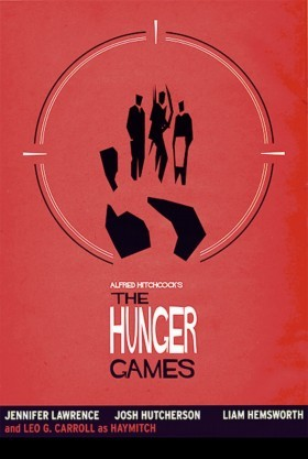 Hunger Games Hitchcock Poster