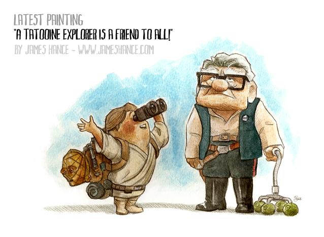 Up Star Wars