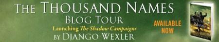 Thousand Names Blog Tour Banner