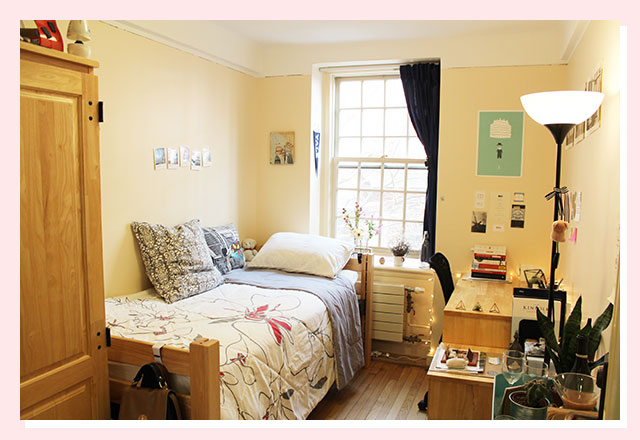 7 cool dorm rooms you need to see the boola for Interior design colleges in new york