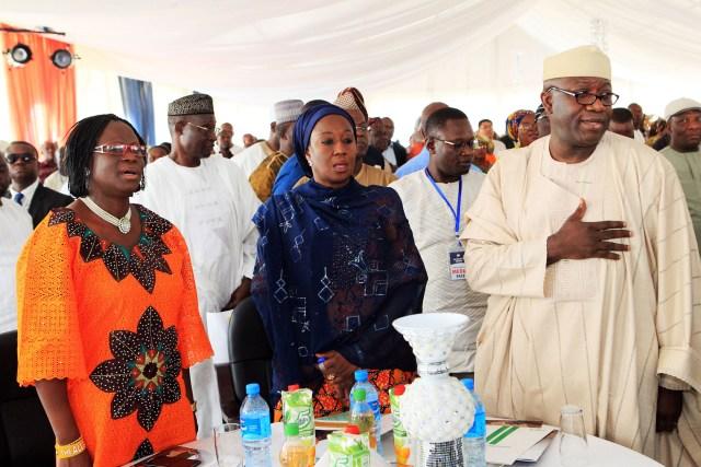 Mrs. Folashade Ayoade,Hon. Hajiya Aisha Abubakar & Hon    Kayode Fayemi