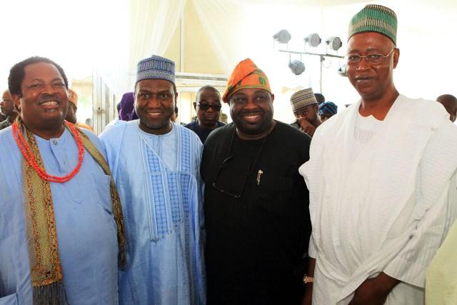 Prince Nduka Obaigbena , Alh. Sani Dangote , Bashorun Dele   Momodu & Alh. Kashim Ibrahim Imam