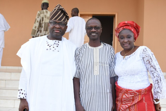 Mr.& Mrs. Abegunde with Mr. & Mrs. Steve Otoijaghale