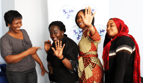 Expressing the kind of happiness they aspire for Nigerian midwives