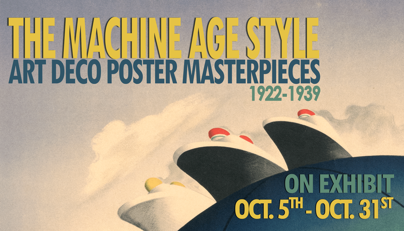 Deco Poster The Machine Age Style Art Deco Poster Masterpieces 10 05 18