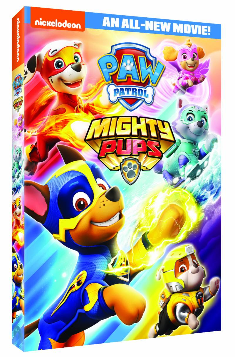 Toddler Stroller Toy Paw Patrol Mighty Pups Dvd Giveaway