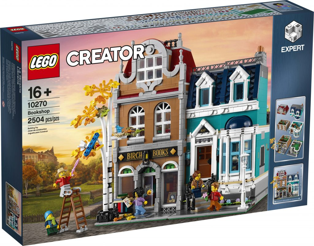 Townhouse Hamburg Lego Creator Bookshop (10270) Officially Announced - The