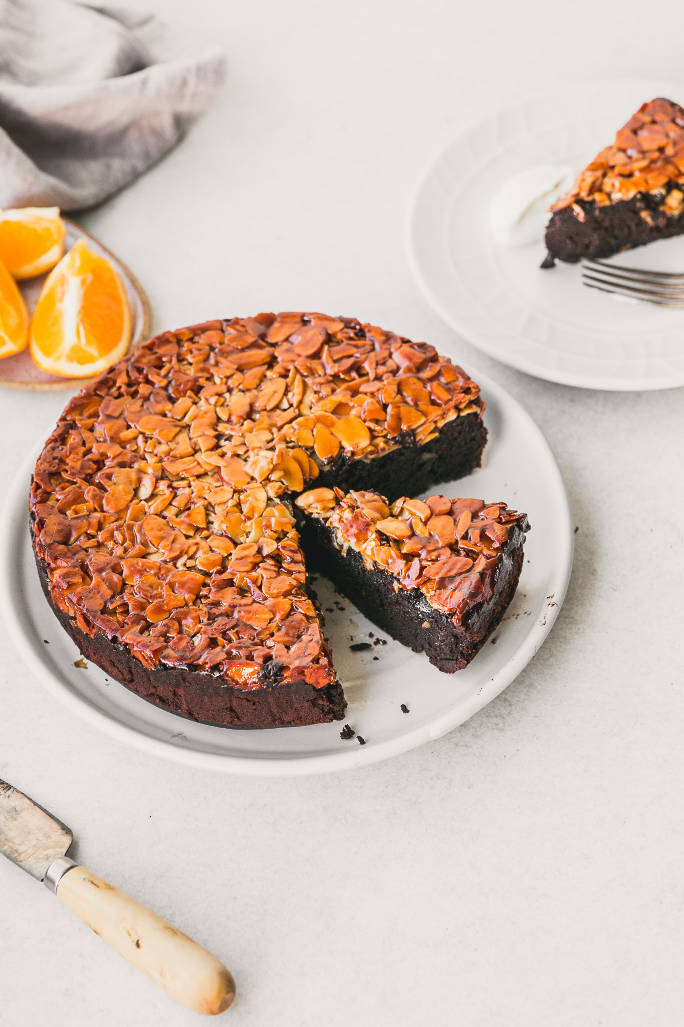 Dessert Kitchen Melbourne Whole Orange Chocolate Almond Cake